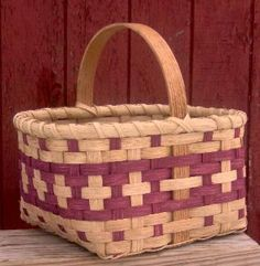 Colorful Market Basket -- free pattern