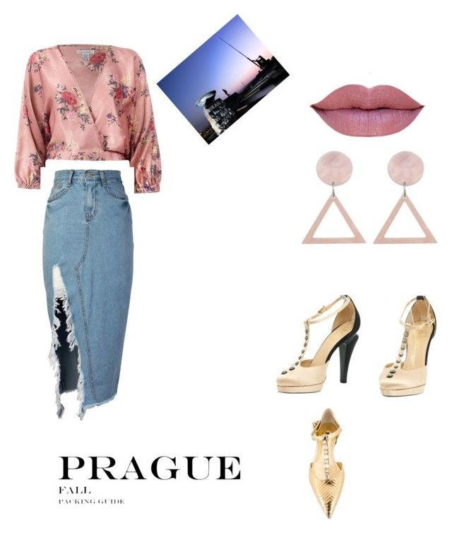 """Prague #1"" by beyoncemoore on Polyvore featuring Sans Souci, storets, Chanel, Dolce&Gabbana and National Geographic Home"