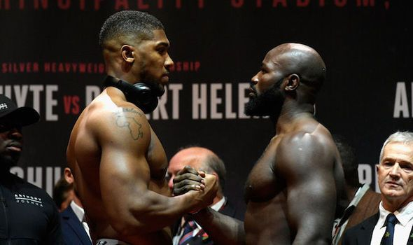 Joshua vs Takam results LIVE: All the undercard fights ahead of Anthony Joshua bout