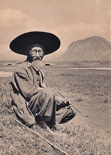 Cheju (Jeju) Ajusshi in 1957