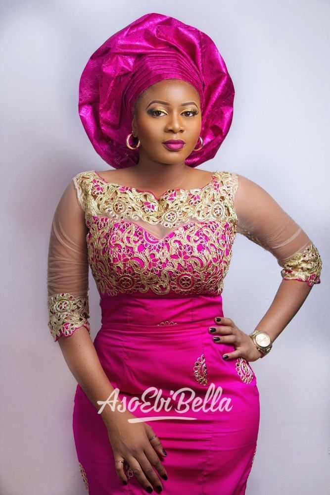 @okerchiri, makeup by @shakaramakeover, photo by @bedge_pictures #NigerianWeddings