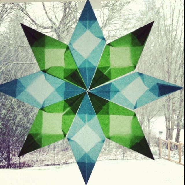 Winter crafts for kids | Winter star craft | Kids Crafts