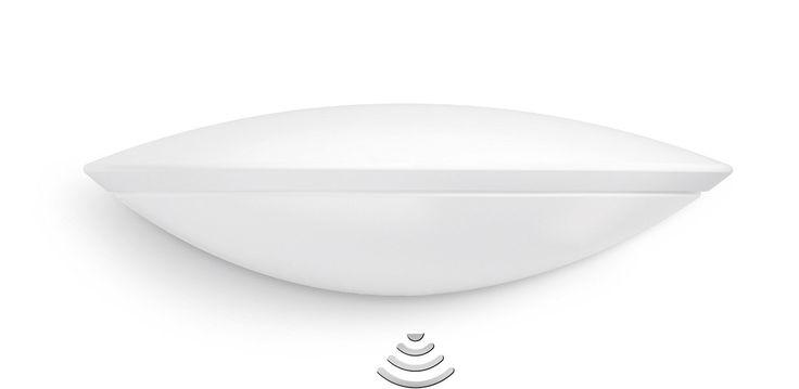Steinel LED Sensor-Leuchte L 825 LED IHF Downlight weiß, Außen Sensor-Lampe mit Hochfrequenz Bewegungsmelder, modern und energieeffizient, Ideale Außenleuchte für Eingang und Hausfront, Dauerlicht optional, aus Aluminium, 007171: Amazon.de: Beleuchtung