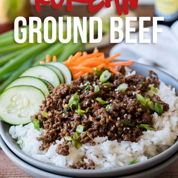 Mongolian Ground Beef Recipe Recipe Ground Beef Beef Recipes Korean Ground Beef