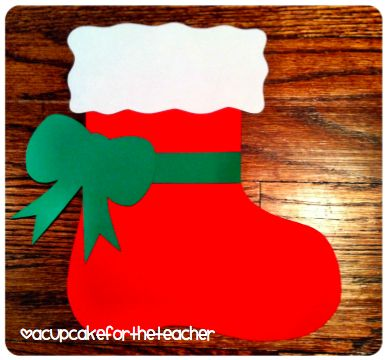 A Cupcake for the Teacher: Stocking Stuffers {Free Craftivity}