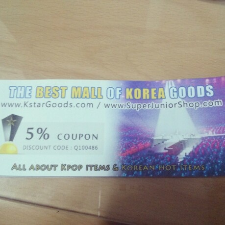 5% sale coupon for all about kpop and korean items on the best kpop shop kstargoods.com #discount code - Q100486