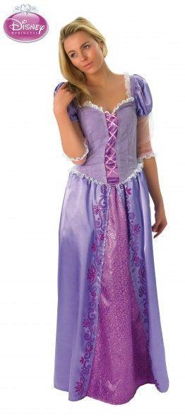 Naamiaisasu; Prinsessa Tähkäpää Lisensoitu Walt Disney Tähkäpää asu. Tähkäpää on yksi Grimmin saduista. Sadun alkuperäinen saksankielinen nimi on Rapunzel, joka on vuonankaalin yksi nimitys. #naamiaismaailma