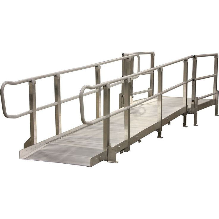 Aluminum Modular Wheelchair Ramp Systems For Your Home or Business