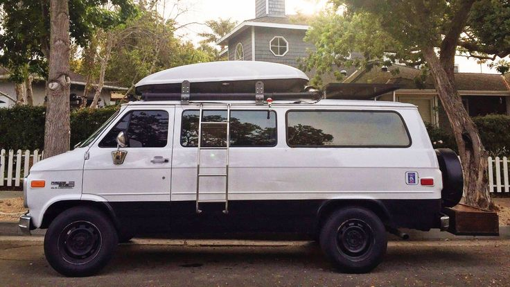 Go Anywhere Camper 1995 GMC Rally Wagon (With images