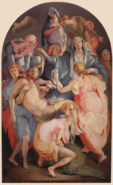 Maher Art Gallery: Pontormo 1494-1557 | Italian manierist painter