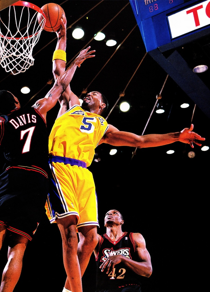 b03d220256a ... Jersey Los Angeles Lakers Robert Horry on Dale Davis. Robert HorryLos  Angeles LakersNba .