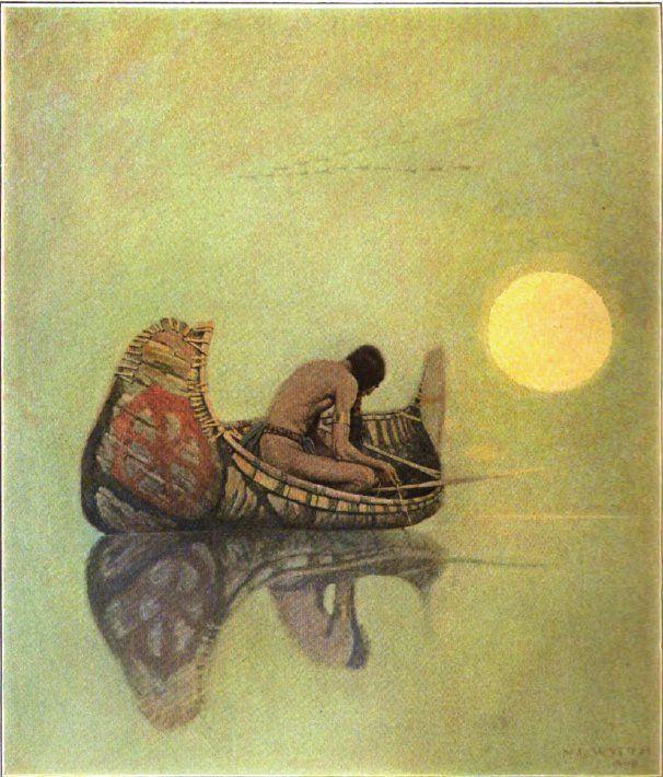 The Silent Fisherman, N. C. Wyeth