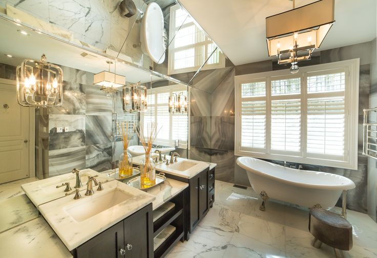 Sophisticated Master Ensuite Bathroom