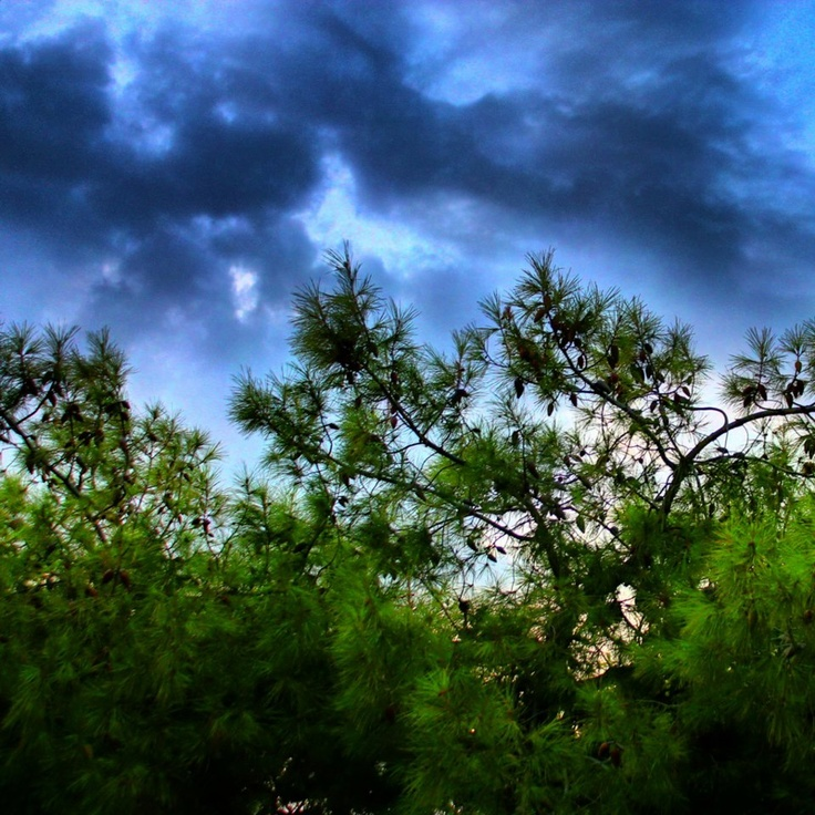 A storm that never came. Agia Paraskevi, October 2012