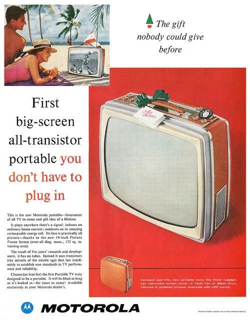 Motorola Television advertisement. by totallymystified, via Flickr