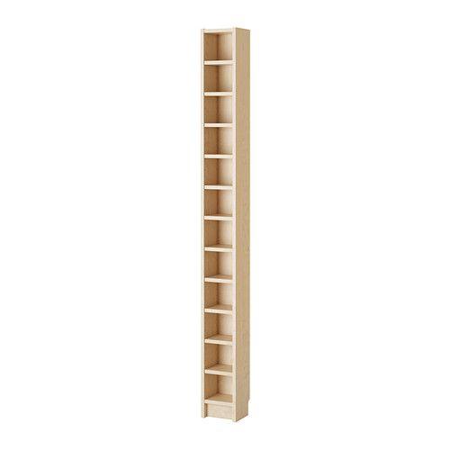 IKEA - GNEDBY, Regal, Birkenfurnier, , Versetzbare Einlegeböden.