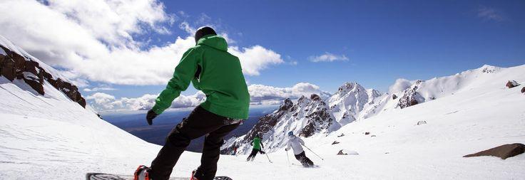 Snowboard Ruapehu