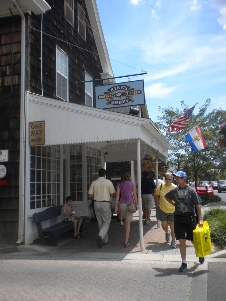King S Ice Cream Is A Local Favorite In Historic Downtown