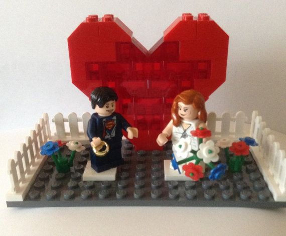 Lego Spiderman Cake Topper