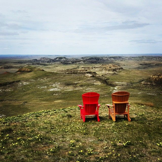 Who needs Drumheller when you can go to Saskatchewan #exploresask #jurassicpark #borderland