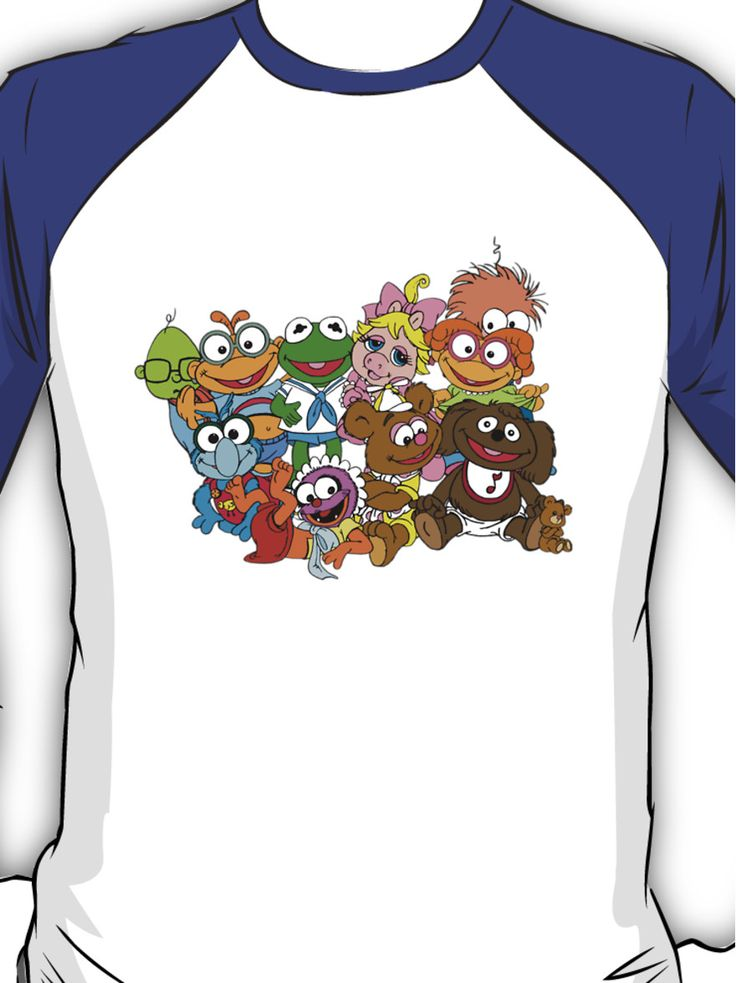 Muppet Babies - Group Baseball ¾ Sleeve