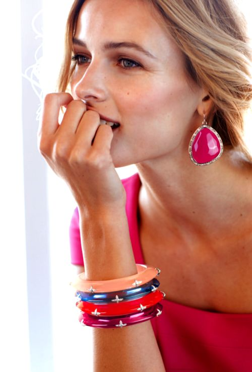 ZsaZsa Bellagio earrings: Rainbows Colors, Miriam Salat, Miriamsalat, Bangles Bracelets Cuffs, Statement Jewelry, Great Ideas, Bold Colors, Bright Colors, Neimanmarcus