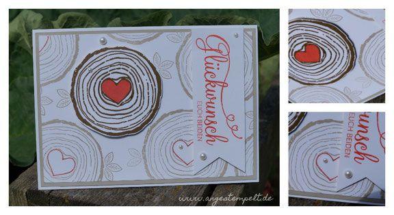 Hochzeitskarte, alway& forever, Stampin´Up! Handgemacht
