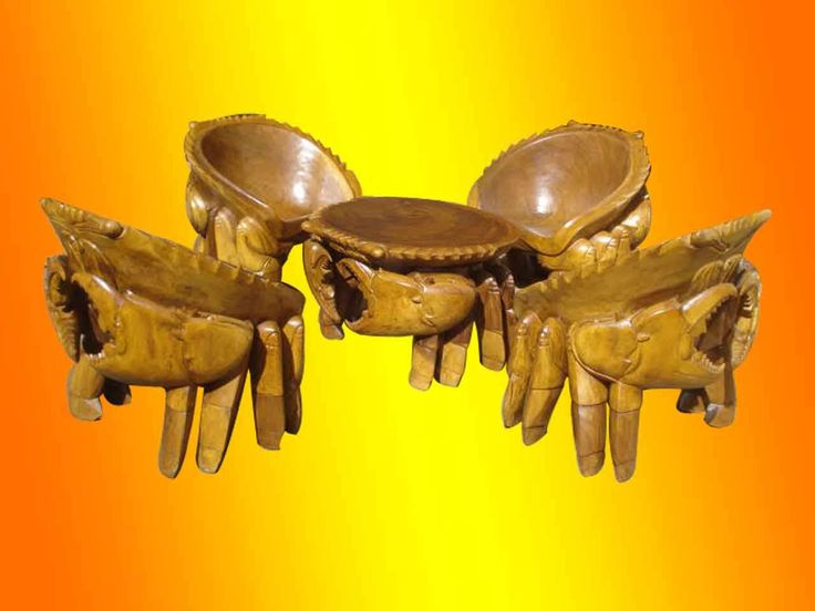 Living Room Set of Crab Table