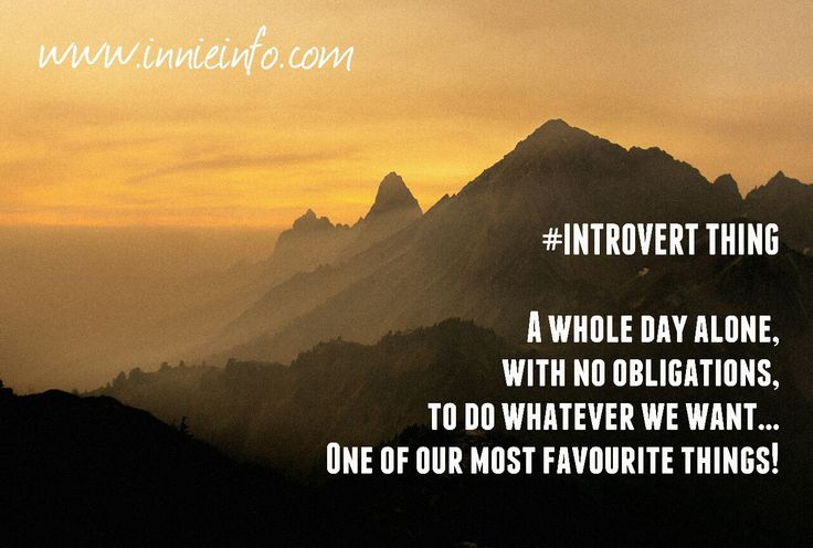 """Introvert Things"" meme series; Part 8. One of our most #favourite things! This one is pretty self-explanatory. For most #introverts , or a #HSPs , an entire day #alone , #free of #responsibilities or..."