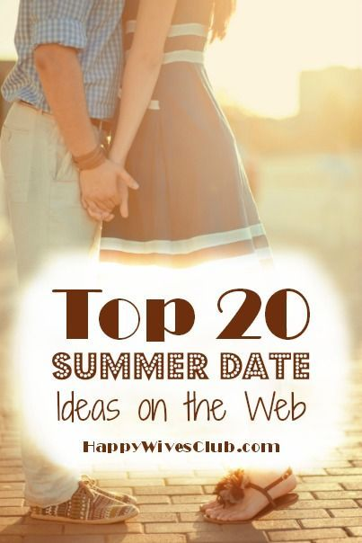 Looking for truly unique summer and outdoor date ideas? Then this is the list! Here are the top 20 summer date ideas on the web.