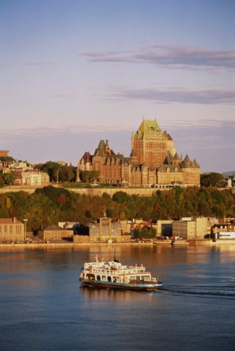 Tips for Visiting the Quebec Winter Carnival: Get One of the Most Famous Views of Quebec City from the Water