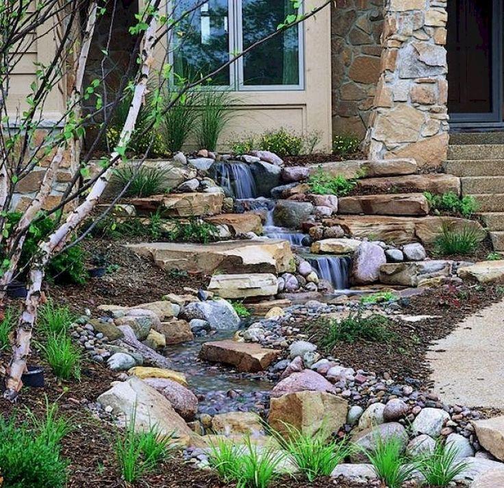 55 small backyard waterfall design ideas - Waterfall Design Ideas