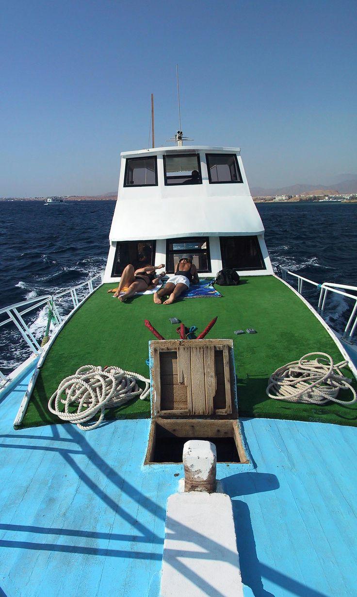 Dive boat - Sharm el-Sheikh, Egypt