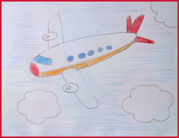 comment dessiner un avion
