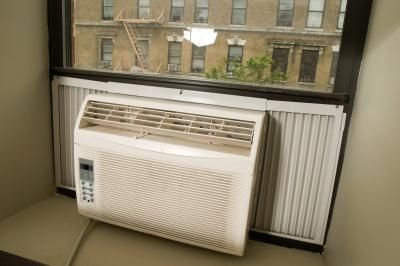 Most window air conditioners have an expanding curtain on either side to help seal any gaps between the window frame and the air conditioner, but sometimes this seal isn't perfect. Even ...