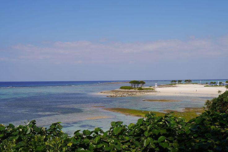 Stunning beach in northern Okinawa