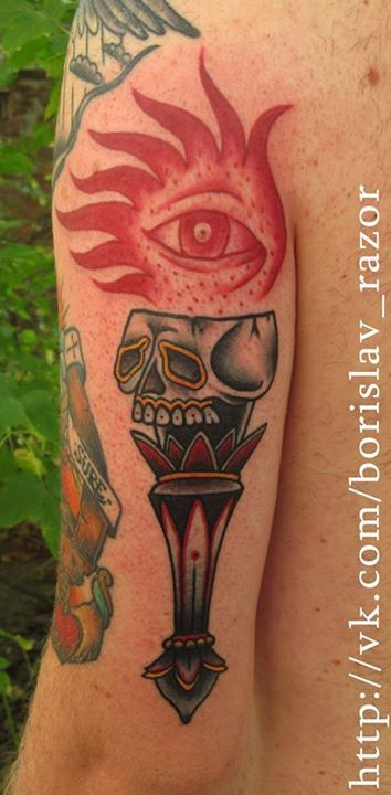 Redberry Tattoo Studio Wrocław #tattoo #inked #ink #studio #wroclaw #warszawa #tatuaz #gdansk #redberry #katowice #berlin #poland #krakow #kraków #sosnowiec #design #boryslav #dementiev #razor #damngoodtattoo #eye #oko #płomień #flame #czaszka #skull