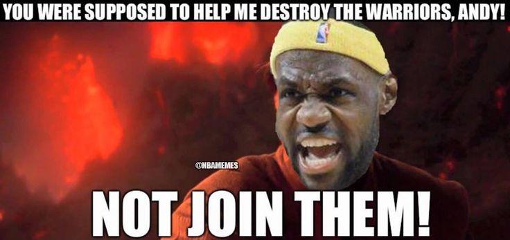 RT @NBAMemes: LeBron James when Anderson Varejao went to the Warriors! - http://nbafunnymeme.com/nba-funny-memes/rt-nbamemes-lebron-james-when-anderson-varejao-went-to-the-warriors