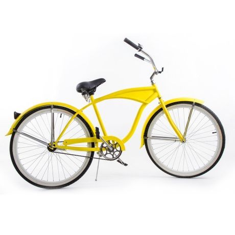 Beach Cruiser – Yellow from A Two-Wheeler Bender - R2,299 (Save 34%)