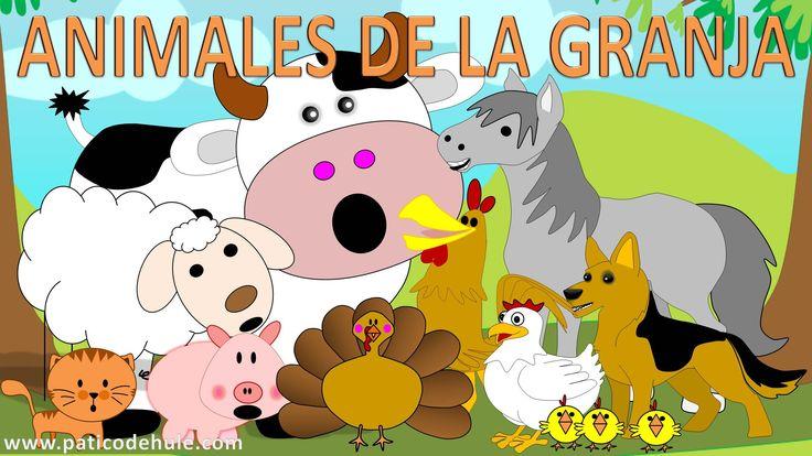 Un vídeo sobre los animales de la granja y sus sonidos, para que los más pequeños de la casa puedan conocer nuevas palabras e ir mejorando su conocimiento de...