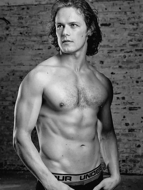 scatterations:  outlander-news:  peterlueders Happy that my cover shoot with @samheughan is finally out. Great shoot with a great guy in the Scottish highlands. #outlander #scottish #crossfit