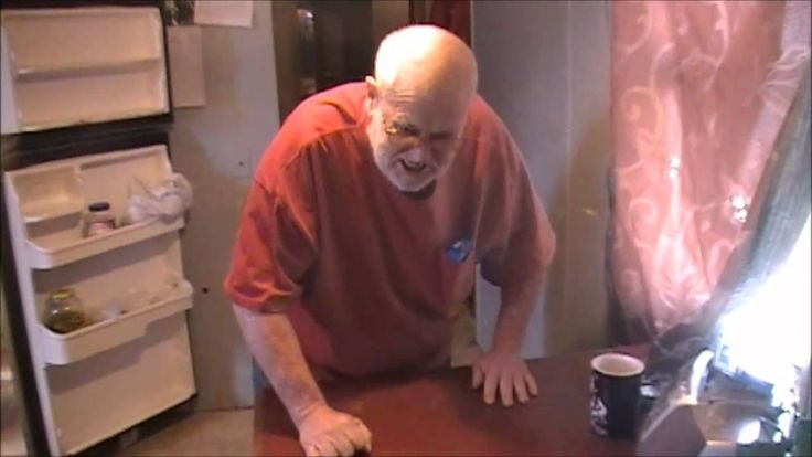 Angry Grandpa destroys kitchen! This will be me in the future for sure. He crazy over that candy!