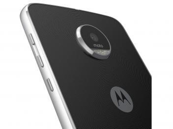 Smartphone Motorola Moto Z Play Power Edition 32GB - Preto e Prata Dual Chip 4G Câm. 16MP + Selfie 5MP