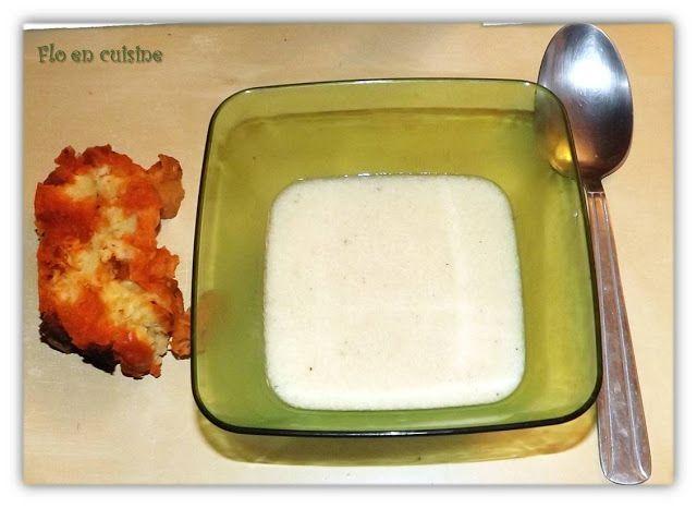 Soupe de navet au parmesan