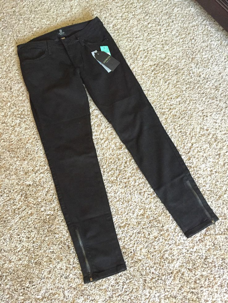 Just Black Dean Skinny Jean from Stitch Fix. Not sure about the zipper detail but I don't have any black jeans yet and they fit perfect!