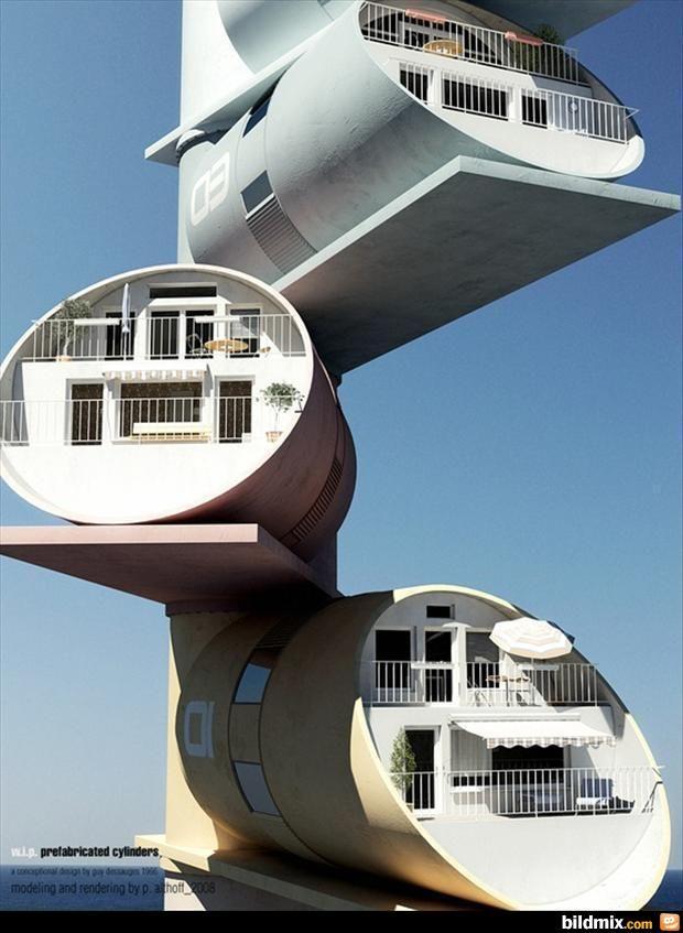 Außergewöhnliche Häuser / bildmix.com - Täglich neue Picdumps!