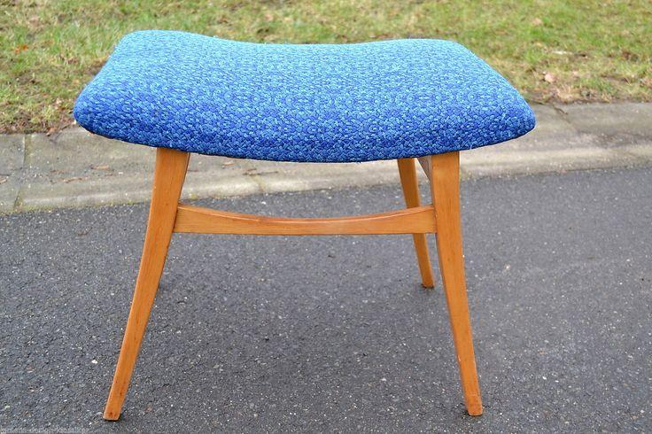 50er 60er Jahre Hocker Stuhl Schemel Rockabilly Klavierhocker Fußhocker   eBay