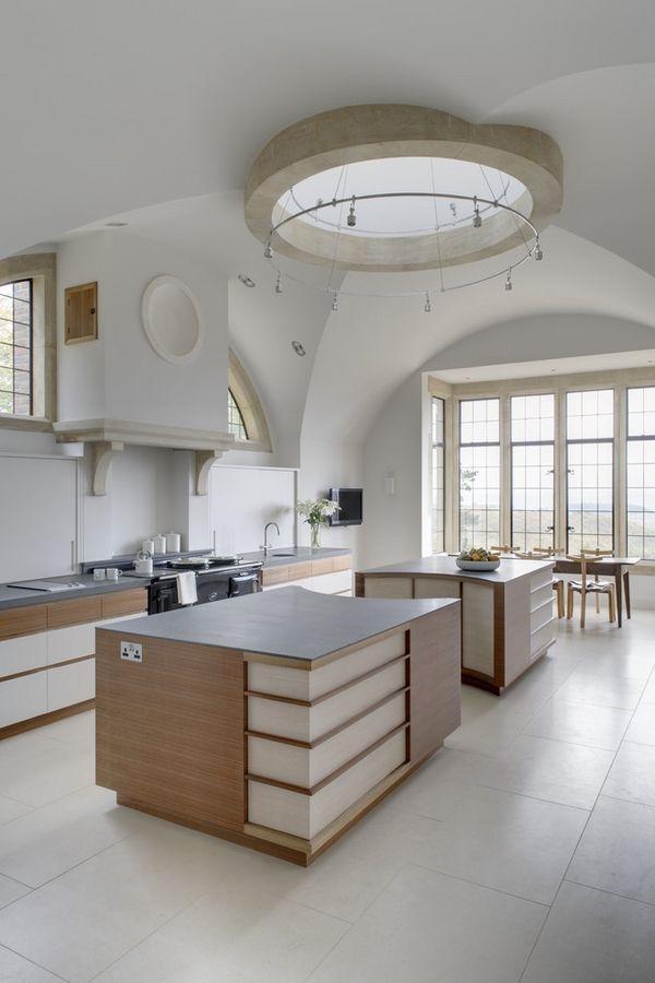 Die Pracht Der Dachoberlichter Spektakulare Ideen Fur Die Deckengestaltung Kuchendesign Kuchendecken Moderne Kuche