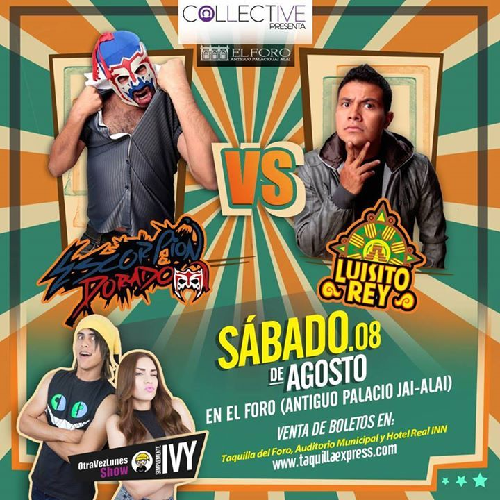 El Escorpión Dorado VS Luisito Rey en Tijuana info en http://tjev.mx/1ffcRKi #tijuana