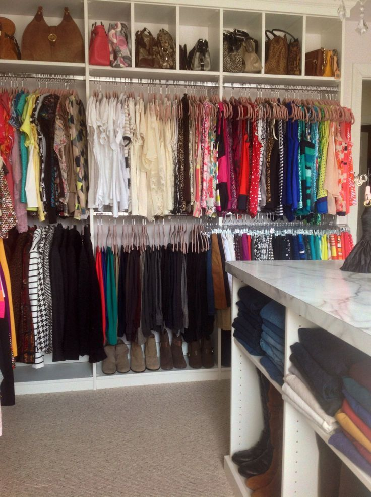 Merveilleux Double Rod Closet Height | Double Hanging Rods U0026 Purse Cubbies | Dimensions  | Pinterest | Closet Remodel, Dressing Room And Room.